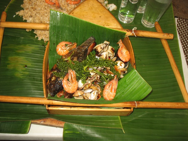 Boodle Feast from Seafood Island